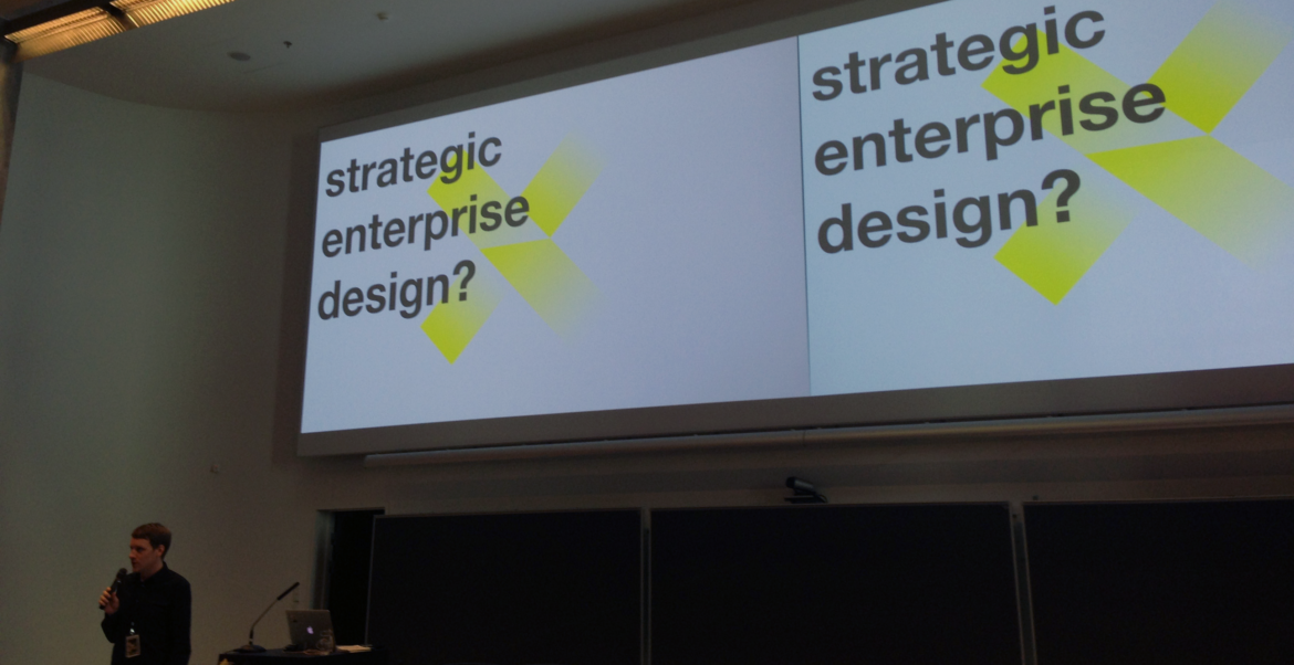 what is strategic enterprise design