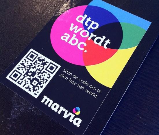 Marvia QR code