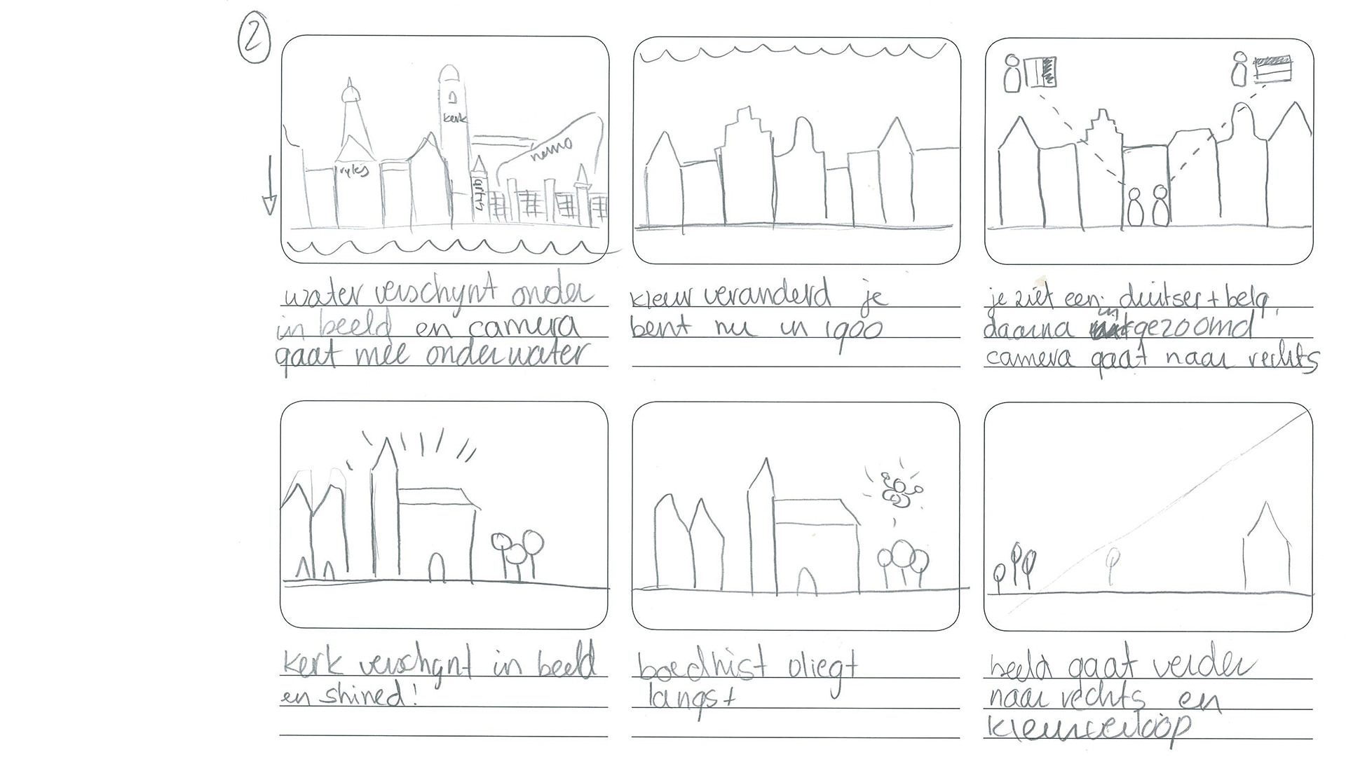 Isabelle oud storyboard