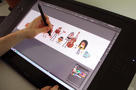 Arbeitsweise Visual design